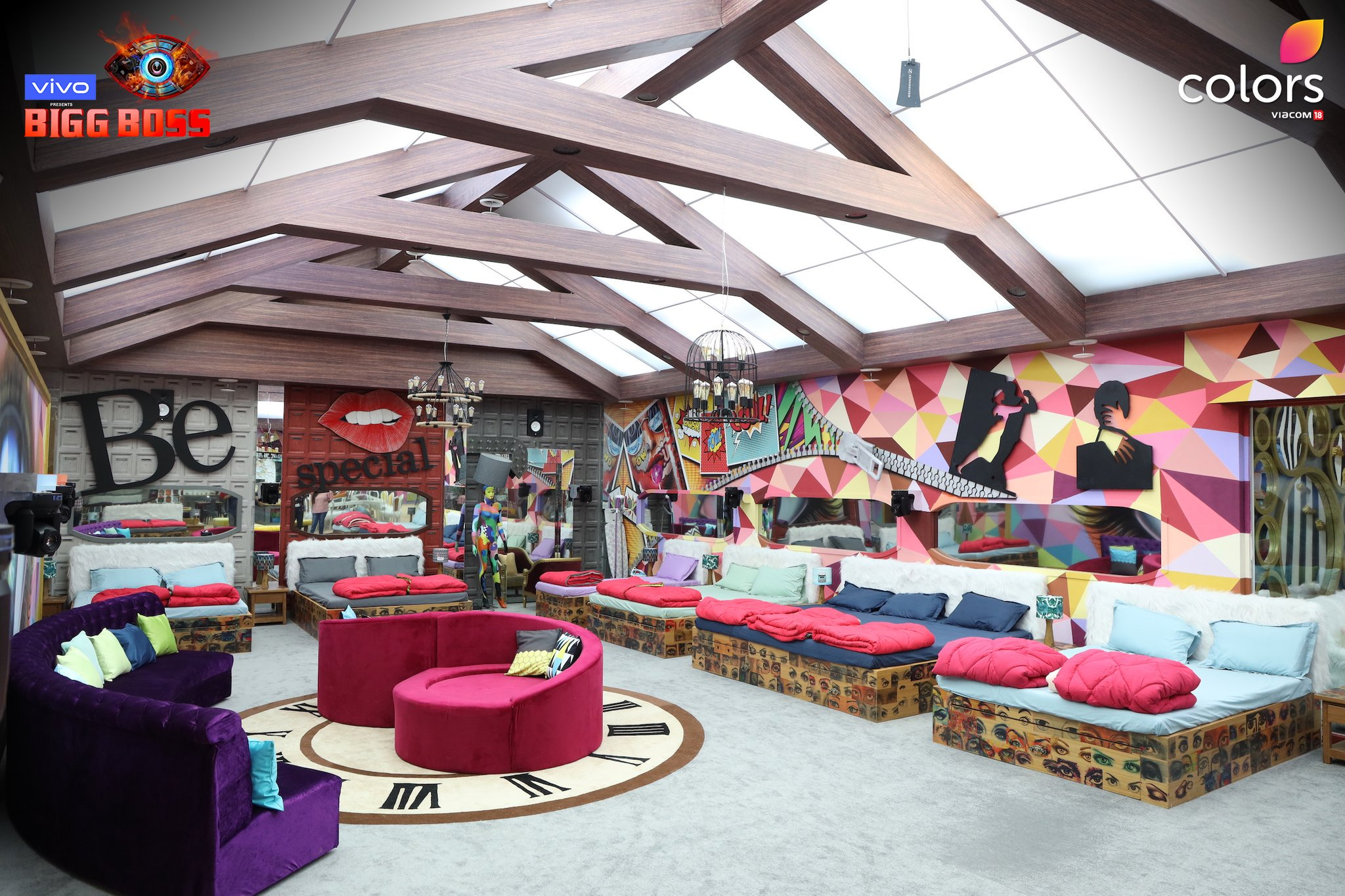 Bigg Boss 13 Bedroom