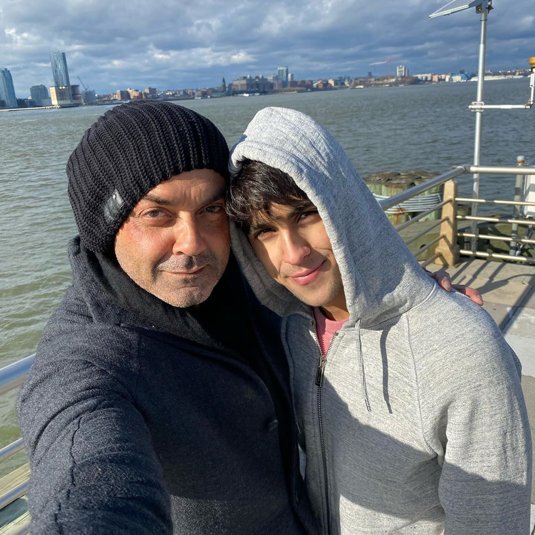 Bobby deol and his family 1