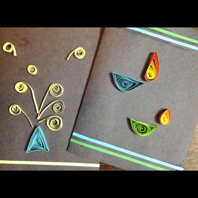 Diwali Handmade cards as Diwali gift