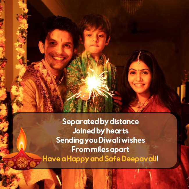 Happy and Safe Diwali