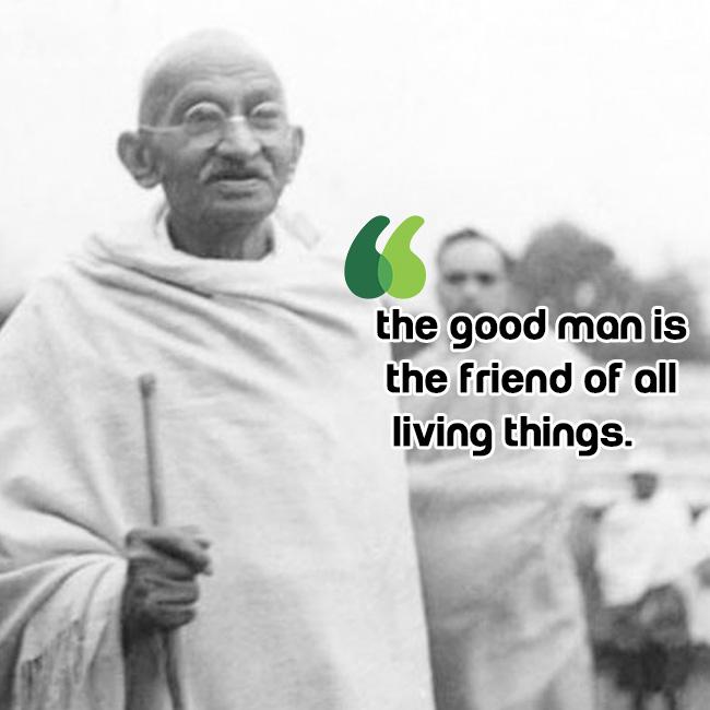 Mahatma Gandhi on success