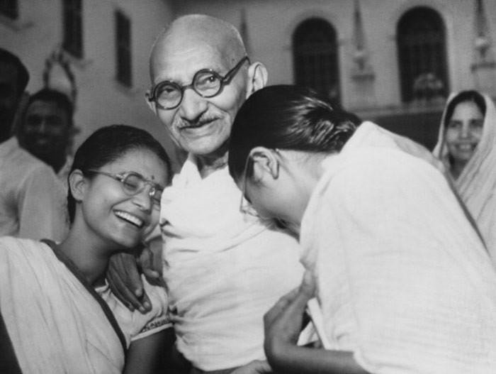 Mahatma Gandhi at Birla House