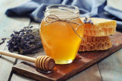 Honey in winter