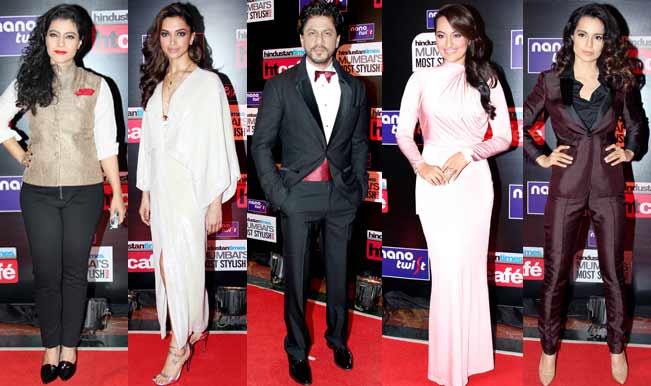 Kajol, Deepika Padukone, Shahrukh Khan, Sonakshi Sinha and Kangana Ranaut