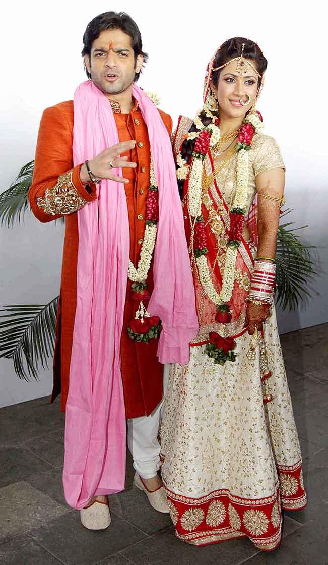 karan patel amp ankita bhargava wedding view exclusive