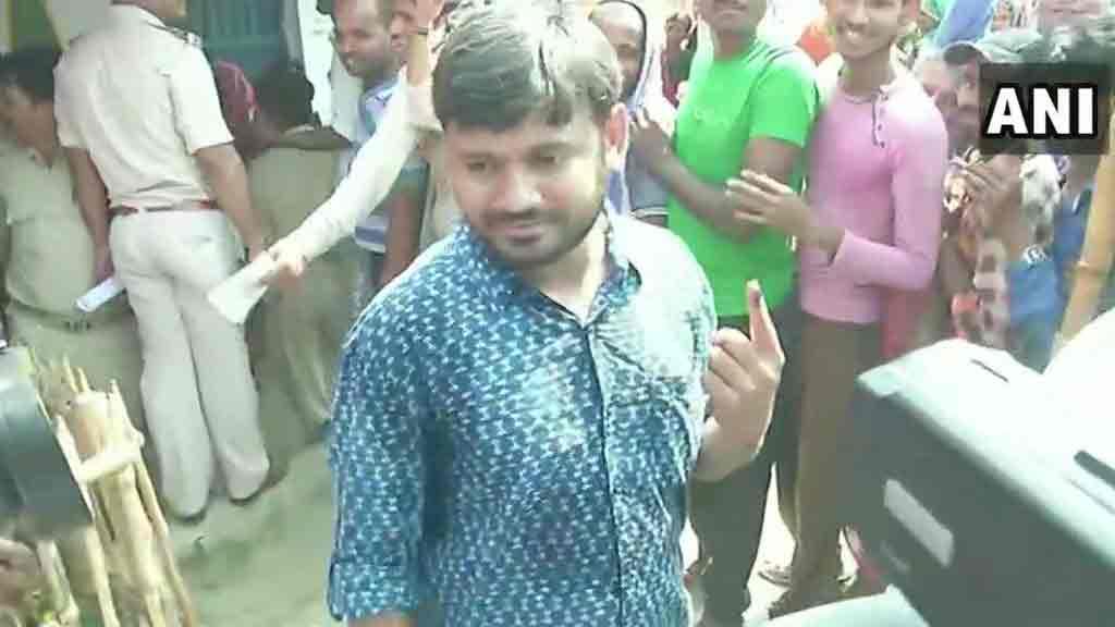 Kanhaiya kumar voting