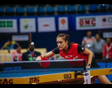 Manika batra in action