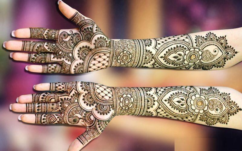 Karva chauth 2019 latest and trendy mehndi designs , Mehndi