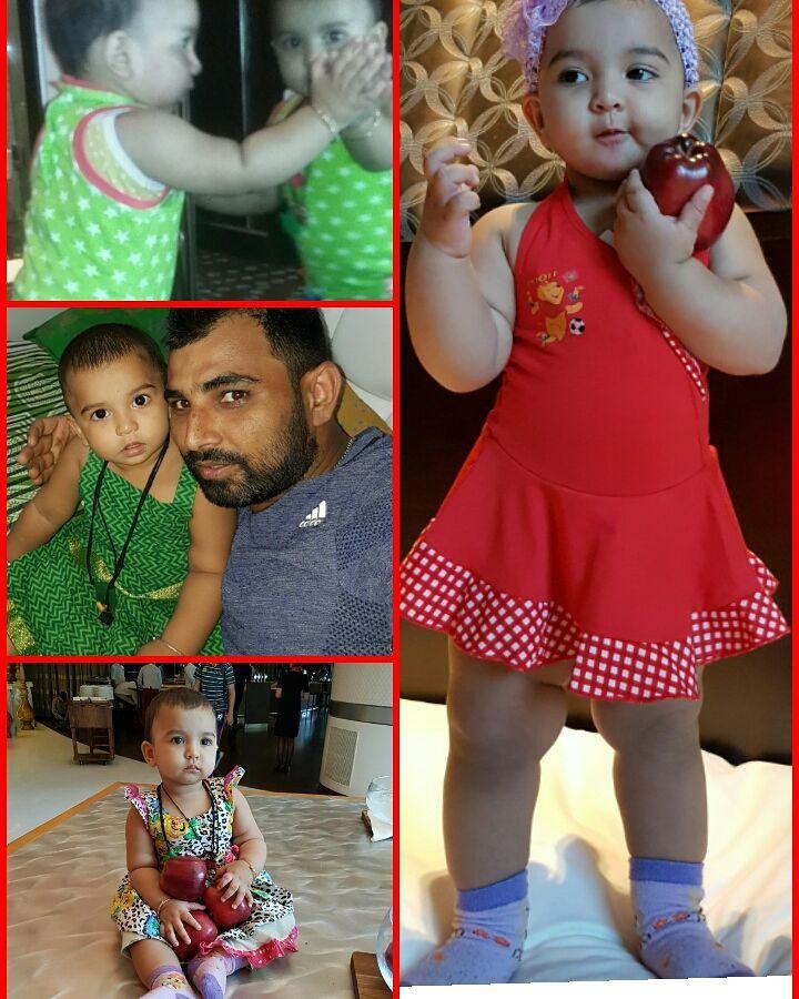 Mohammad shami daughter 30
