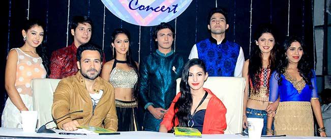 Emraan Hashmi and Amyra Dastur promotes Mr. X on the sets of Kaisi Yeh Yaariyan