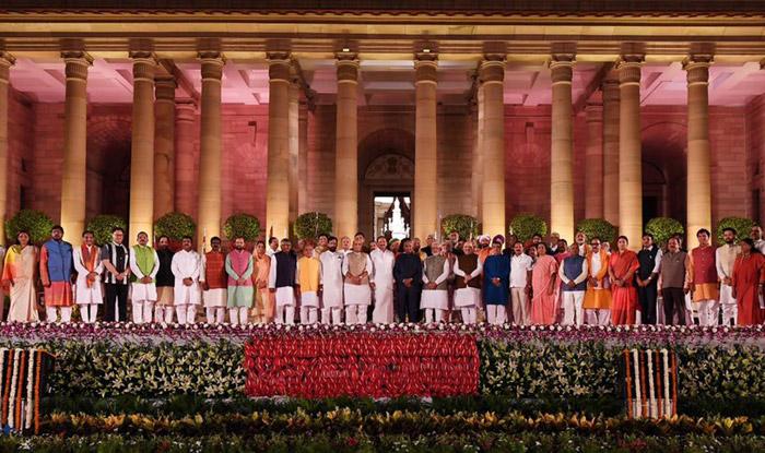 PM Narendra Modi Oath Ceremony