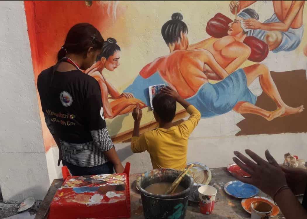 Kumbh painting