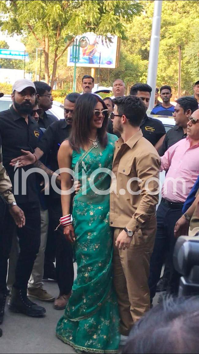 Nick Joans Priyanka Chopra Reception