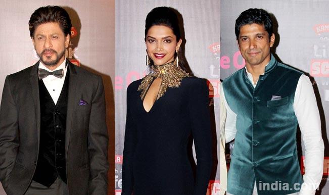 Shahrukh Khan, Deepika Padukone and Farhan Akhtar