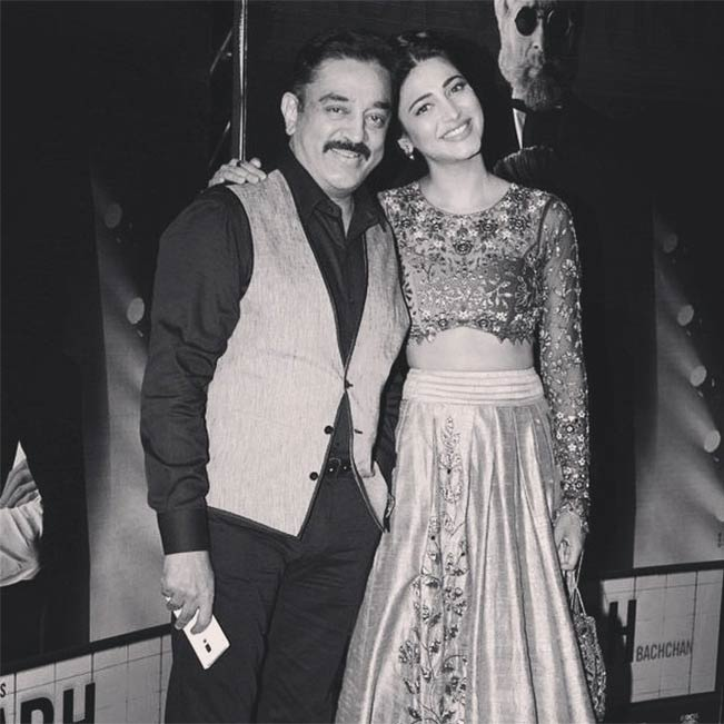 This Video Of Shruti Haasan Jamming With Father Kamal: Selfie With Father: Shruti Haasan Shares Pictures With