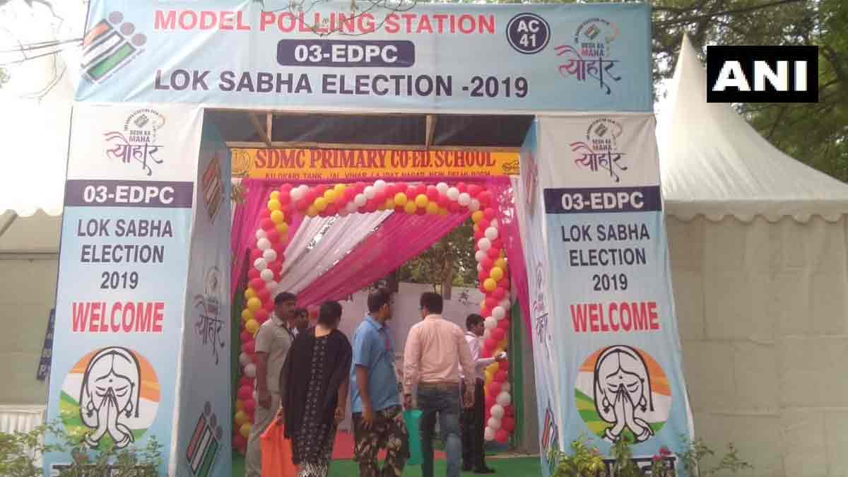 Sixth phase polling