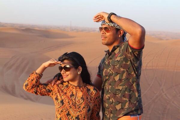 Umesh yadav with wife tanya31