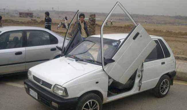 Getting this modification done will certainly increase the re-sale value of this Maruti 800