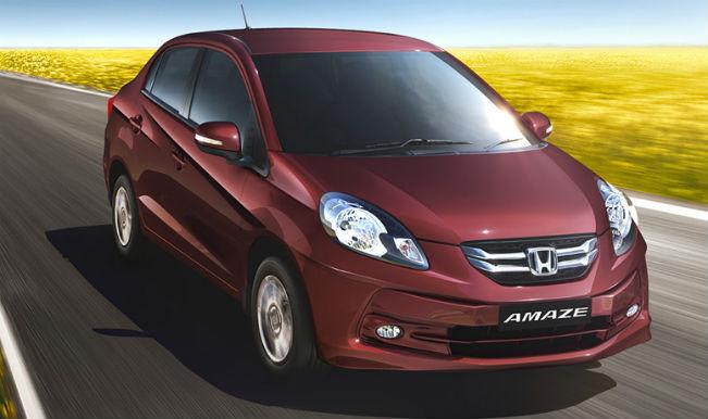 Honda amaze  hondacarindia dot com