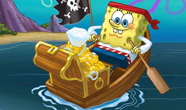 A beach under the ocean – Spongebob Square pants