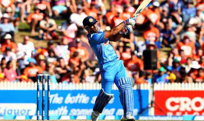 MS-Dhoni-of-India-bats-during-game-four-of-the-men's-one-d