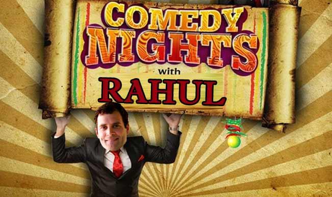 Comedy Nights with Rahul Gandhi