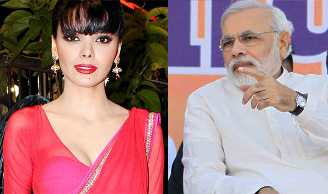 Sherlyn Chopra and Narendra Modi