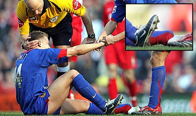 OH! THE HORROR! Check out the worst football injuries ever