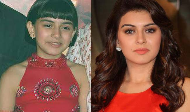 Hansika Motwani - From Child Artist to Leading Actress of ...  |Koi Mil Gaya Child Artist Name