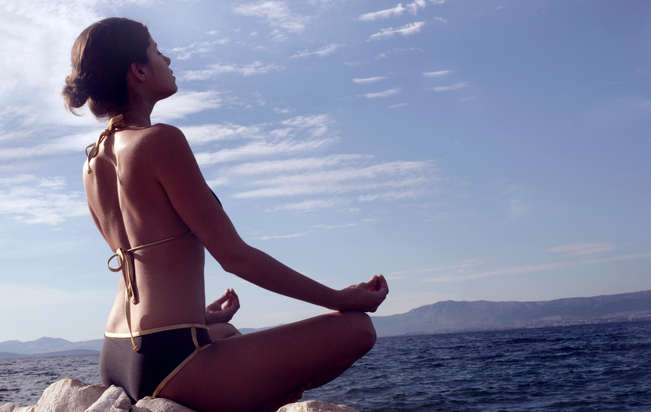 Co-ed yoga Nude Photos 48