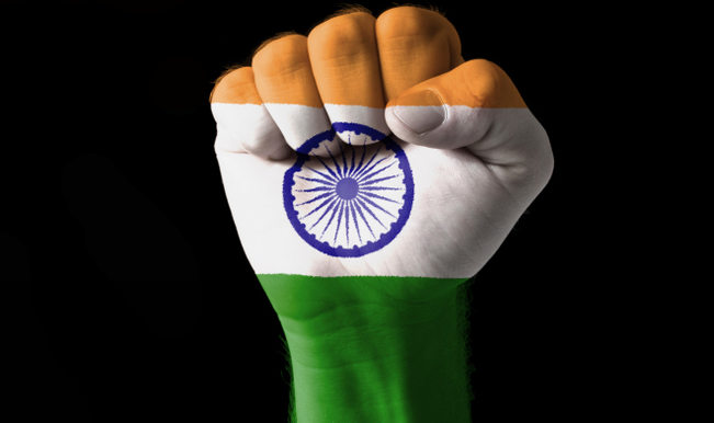 india fist
