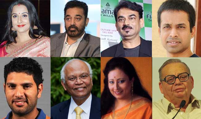 Padma Awards 2014 full winners' list