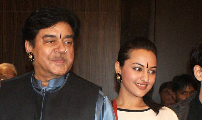sonakshi and shatrughan