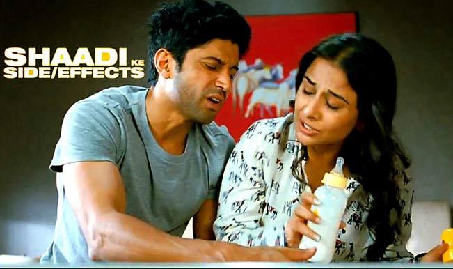 Vidya-Balan-Farhan-Aktar-Shaadi-Ke-Side-Effects-Movie-Photo