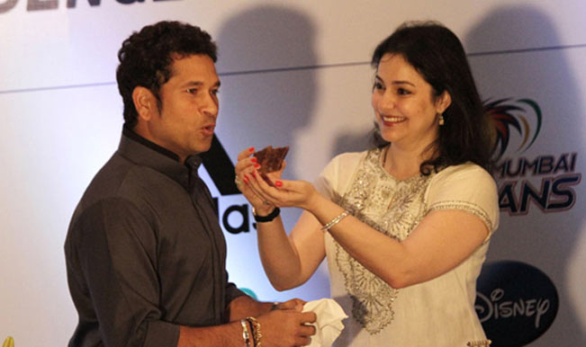 Image result for सचिन and his wife