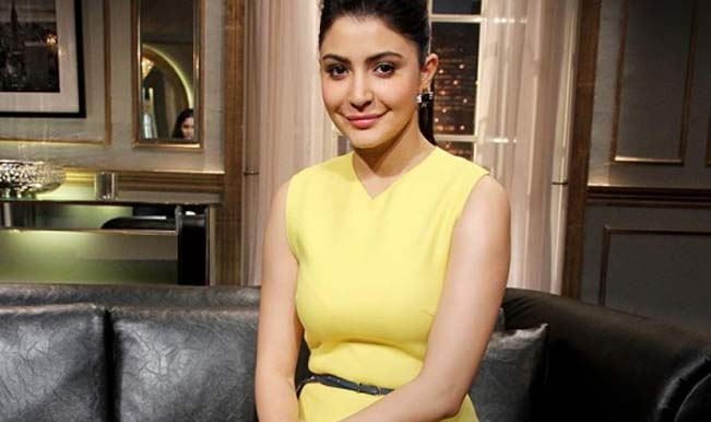 Anushka Sharma lip job on Koffee with Karan 4