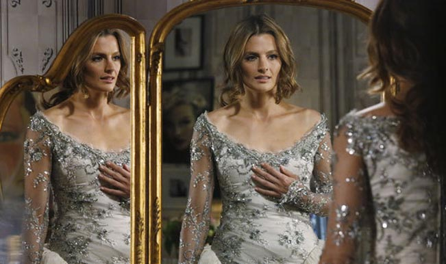 Kate Beckett wedding dress