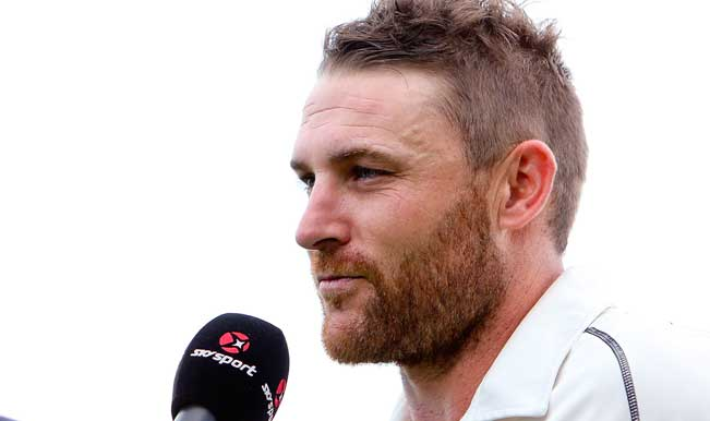 Brendon-McCullum-of-New-Zealand-is-interviewed-after-finishing-the-day-on-281-runs-o