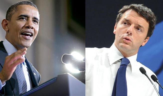 Obama-matteo-Renzi