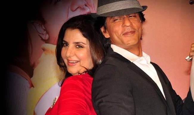 Farah Khan and Shahrukh Khan