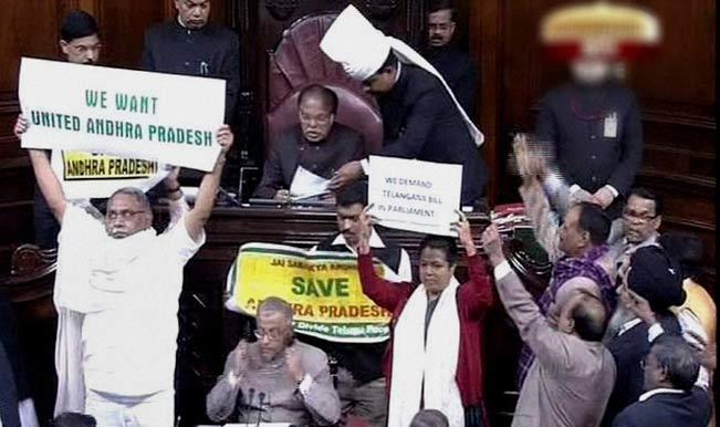 Telangana-protest-in-Rajya-Sabha-2