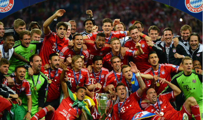 bayern munich champions league fixtures
