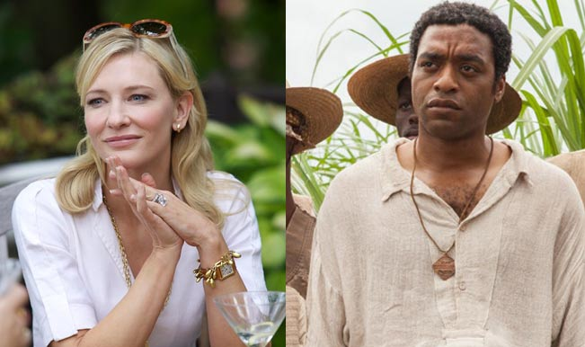 Cate Blanchett and Chiwetel Ejiofor - BAFTA Awards 2014