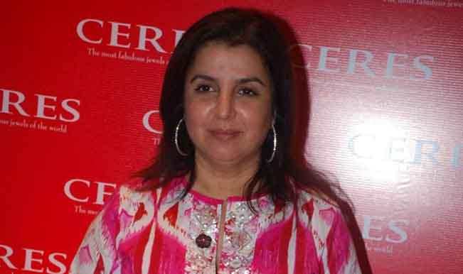 Farah Khan at ceres store launch in Bandra Mumbai.