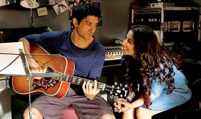 Farhan Akhtar and Vidya Balan in Shaadi Ke Side Effects