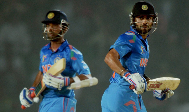 Indian-batsmen-Virat-Kohli-(R)-and-Ajinkya-Rahane