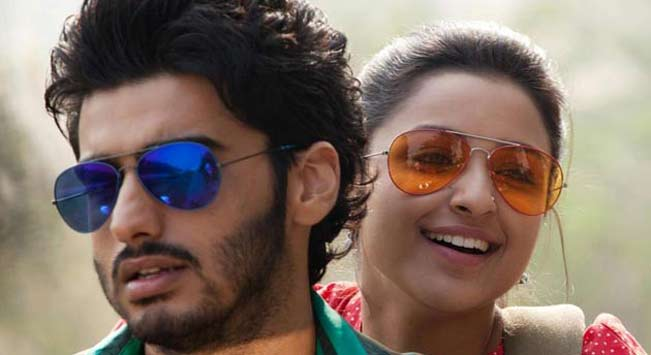 Arjun Kapoor and Parineeti Chopra in Ishaqzaade