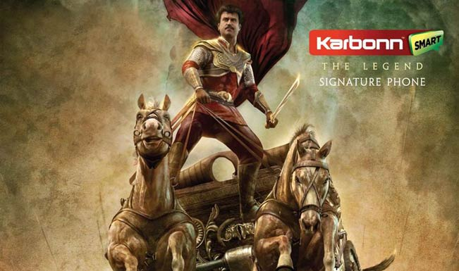 Rajinikanth's Kochadaiiyaan poster