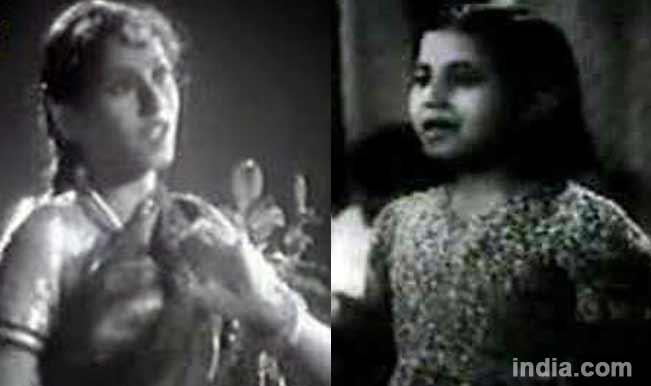Madhubala in Neel Kamal and Basant