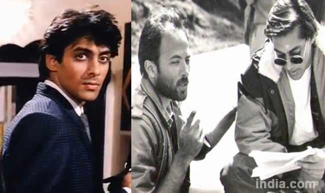 Salman Khan with Sooraj Barjatya
